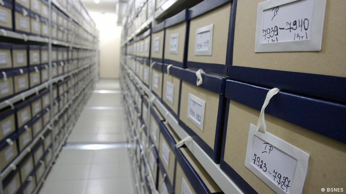 Archiv der kommunistischen Geheimdienste in Bulgarien
