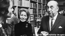 Pablo Neruda Literaturnobelpreis Stockholm Schweden