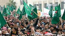 Ägypten Muslimbrüder Mursi Flagge Fahne Demonstration