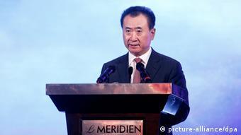 وانگ جیانلین، ثروتمندترین فرد چین