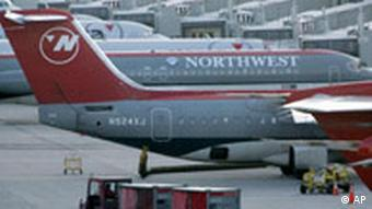 Northwest Airlines in Detroit Pleite