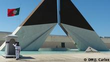 Monumento de homenagem aos combatentes da guerra do Ultramar em Lisboa