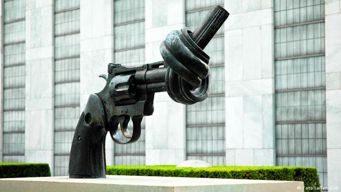 Denkmal Pistole (Foto: Jan-Dirk)