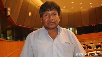 Víctor Hugo Vázquez, viceministro boliviano de Desarrollo Rural, Bruselas, 18.09.2013.