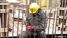 Tadschikischer Gastarbeiter in Russland