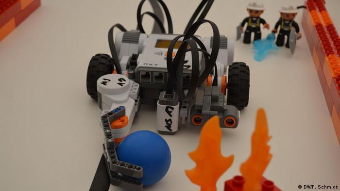 Eurathlon in Berchtesgaden Robotik spielerisch erlernen