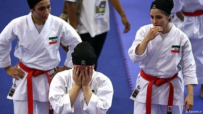 Iran Frauensport Karate (Tasnim.ir)