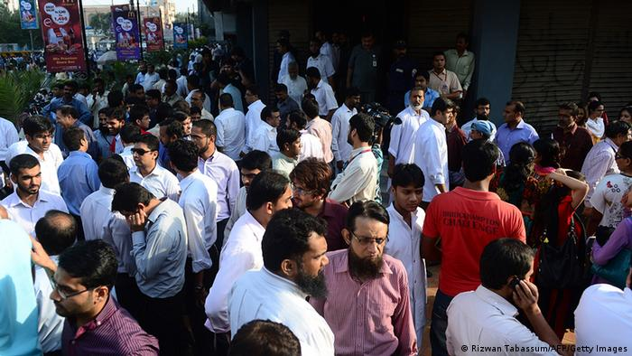 Strong earthquake hits southwest Pakistan