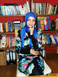 Degree for naught? Serife Ay is not allowed to teach in her state's public schools because she wears a headscarf Copyright: Serife Ay (Privat)