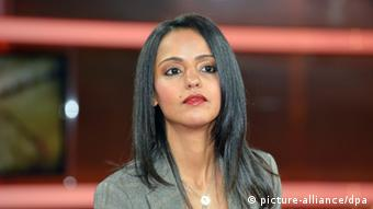 A picture of the German-Palestinian political scientist, Sawson Chebli. (Photo: Karlheinz Schindler from ARD television)