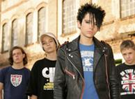 Tokio Hotel en sus comienzos en 2005.
