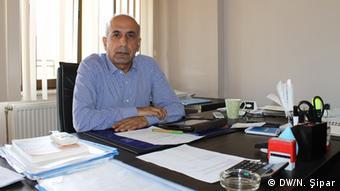 Mehmet Kaya, Vorsitzender des Tigris Instituts für Sozialforschung in Diyarbakir (Foto: DW/Nalan Sipar)