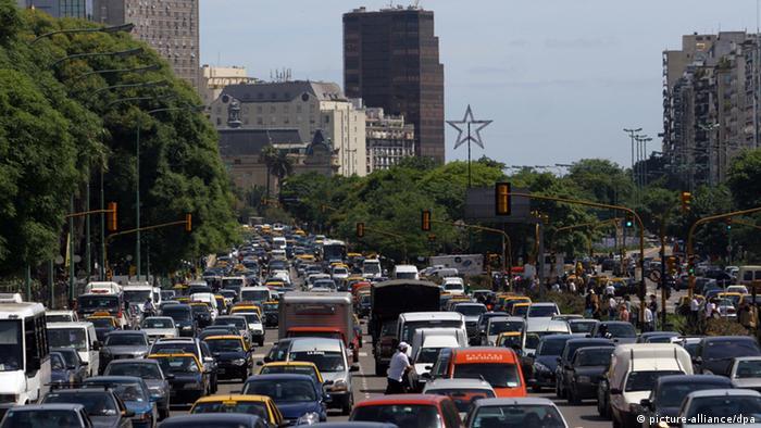 Buenos Aires Verkehrsstau