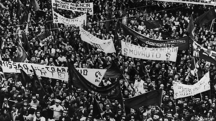 Portugal 1975 Kommunistische Bewegung