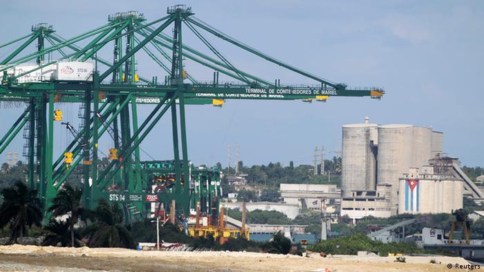 Zona económica especial de Mariel, Cuba.