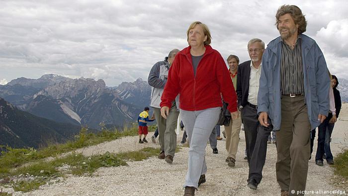 Меркел и Меснер през 2006