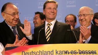 Bundestagswahl 2009 FDP-Vorsitzende Guido Westerwelle