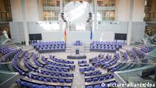 Empty Bundestag (picture-alliance/dpa)