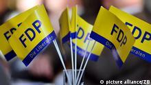 FDP-Fahnen
