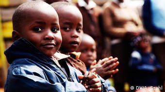 Young Kenyan school children