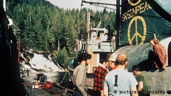 Greenpeace, η πρωτη δραση στο Βανκουβερ