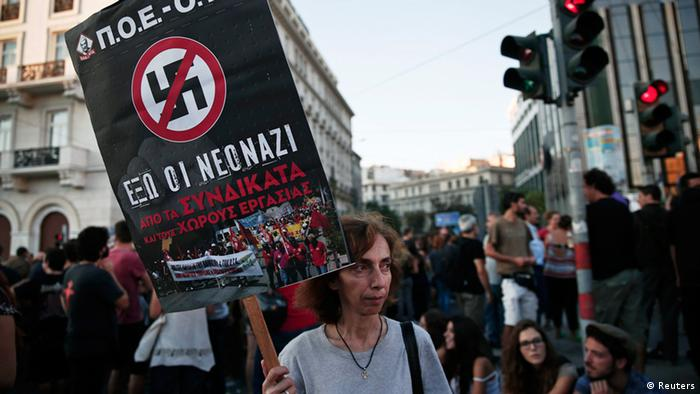 Anti-racism protests in Athens
