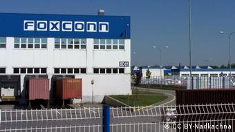 Foxconn Pardubice Author Nadkachna Quelle: Wikipedia http://commons.wikimedia.org/wiki/File:Foxconn_Pardubice_01.JPG