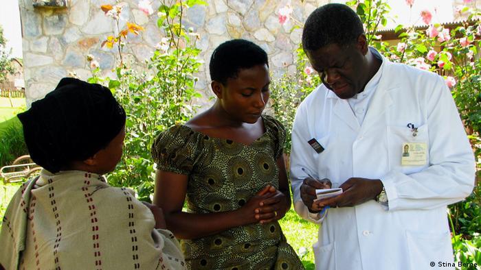 Daktari Denis Mukwege ni mkurugenzi wa hospitali ya Panzi