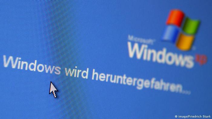 Microsoft Windows XP Ende