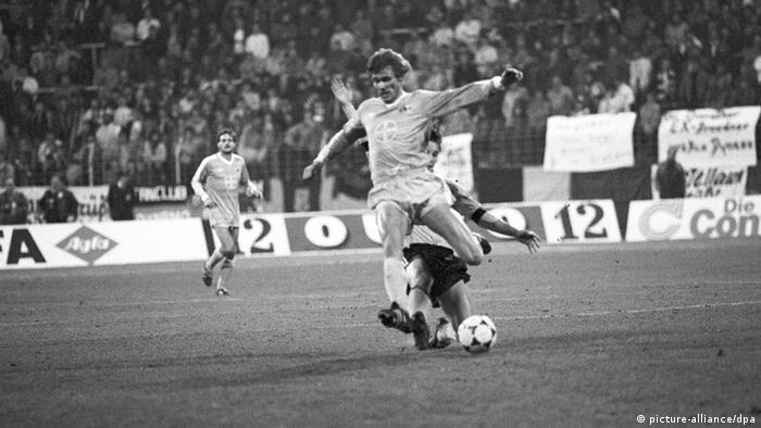 Deutschland Fußball Ürdingen gegen Dresden 1986 (picture-alliance/dpa)
