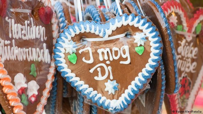 Gingerbread heart at Oktoberfest, Munich
