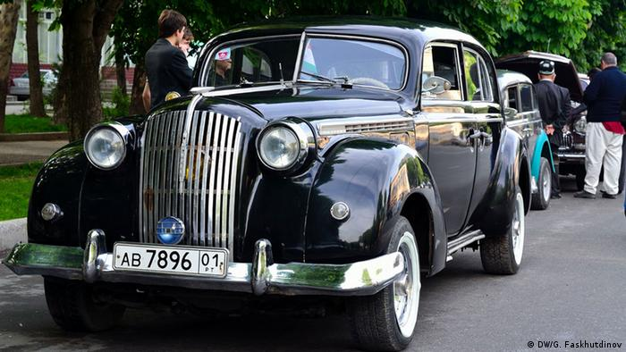 Старые автомобили в Душанбе