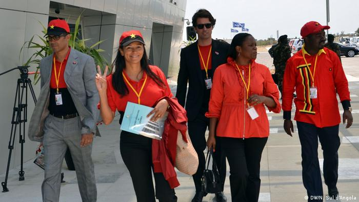 Kampagne in Benguela Angola (DW/N. Sul d'Angola)