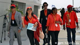 Kampagne in Benguela Angola