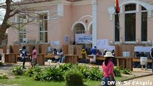 Wahlen in Angola Wer hat das Bild gemacht/Fotograf?: Nelson Sul d'Angola, DW - freelancer Wann wurde das Bild gemacht?: Sept, 2013 Wo wurde das Bild aufgenommen?: Benguela, Angola