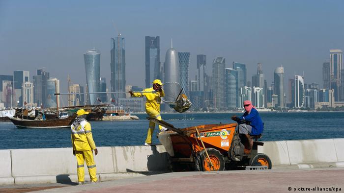 Ausbeutung In Katar Fur Fussball Wm 2022 Aktuell Nahost