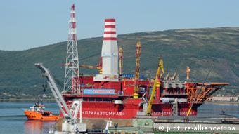 This year Russia delivered the first offshore Arctic oil from the controversial Prirazlomnaya rig.