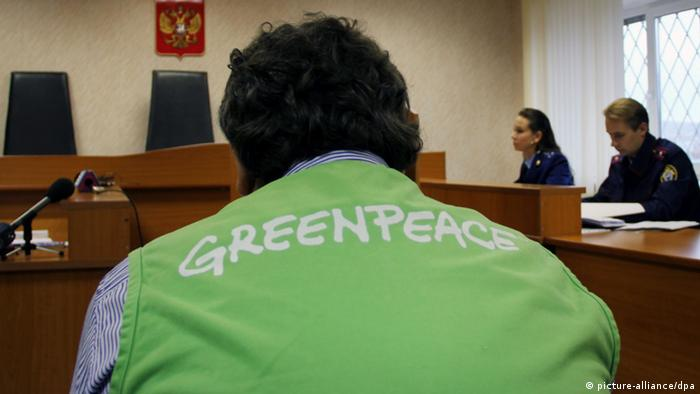 2290290 Russia, Murmansk. 09/26/2013 A hearing in Leninsky Court in Murmansk on a jail term for Greenpeace activists pending the investigation. The court rules that Greeanpeace activist Roman Dolgov and photographer Denis Sinyakov be jailed till 24 November 2013. Anastasia Yakonyuk/RIA Novosti pixel