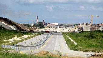 Mariel Hafen Kuba Baustelle