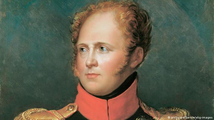 Царь Александр I. Портрет работы Франсуа Жерара (1770-1837)