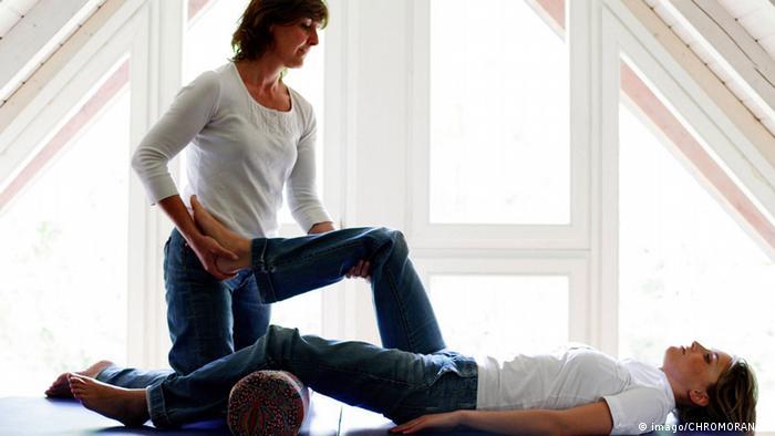 Symbolbild Physiotherapie