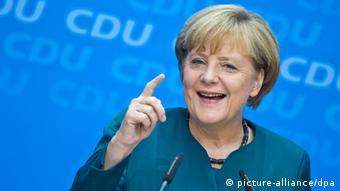 Angela Merkel Photo: Michael Kappeler/dpa +++(c) dpa - Bildfunk+++