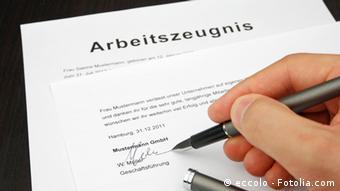 Рекомендаційний лист у Німеччині