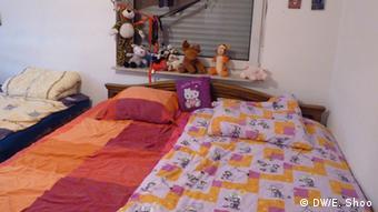 Спальня Далал Абдулкадер и Гулистан Айо в Зинциге