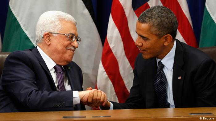 Barack Obama und Mahmud Abbas
