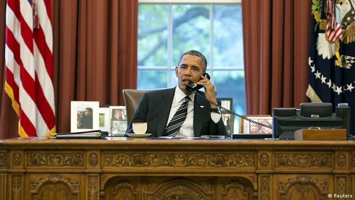 Barack Obama telefoniert mit Hassan Rohani