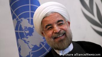 Hassan Rohani mostró su mejor cara ante la ONU, en Nueva York.