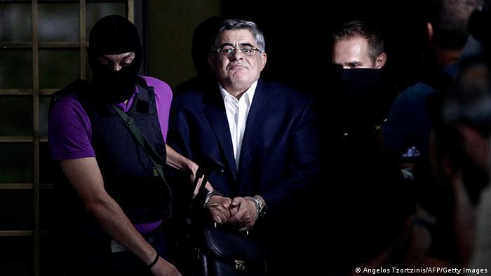 Griechenland Neo-Nazi-Partei Goldene Morgenröte Chef Verhaftet (Angelos Tzortzinis/AFP/Getty Images)