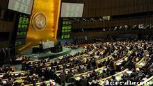 UN Vollversammlung UN Hauptquartier New York