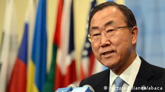 Ban Ki-moon New York 27.09.2013 Overlay